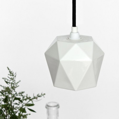 Porcelain Pendant Light [K1]