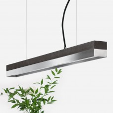 Steel & Concrete Pendant Light 92 [C2]
