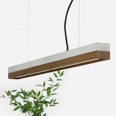 Walnut Pendant Light 92 [C2]