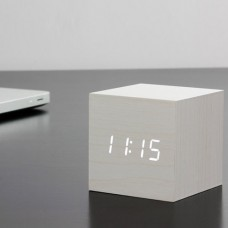 Cube Click Clock LED