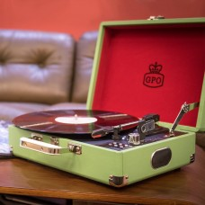 Attaché Case Record Player