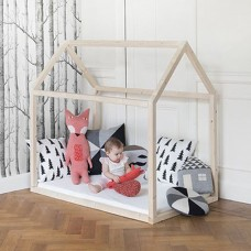 Toddler House Bed with Slats 70X140
