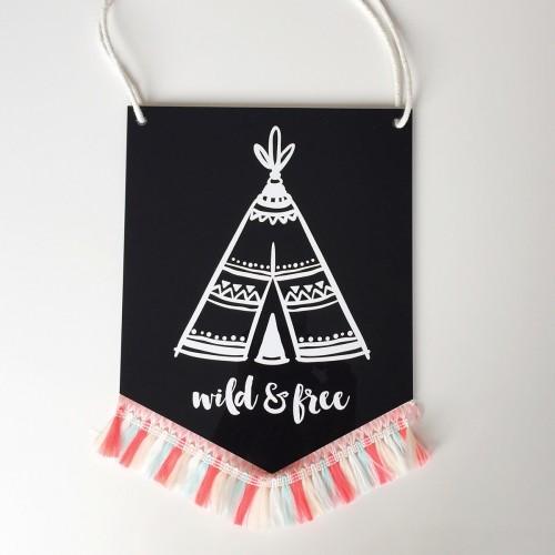 Tribal Teepee Banner