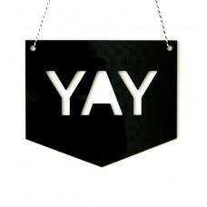 Yay Wall Sign