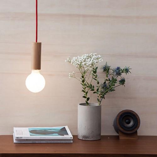 Woody Tube Lamp