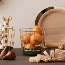 Canasta - Enamel Wire Basket