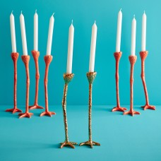 Long Legs Candle Holder - Gold