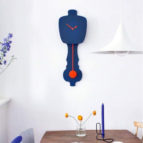 KLOQ Grandfather Wall Clock Small