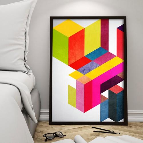 Farbfernseher Print