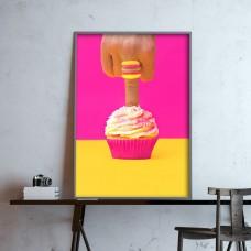 Finger Cake Print