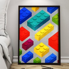 Geometric Childhood Print