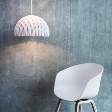 Arc Pendant Light - White