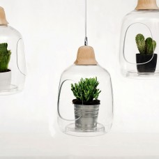 Milo Baby Plant Pot and Lamp