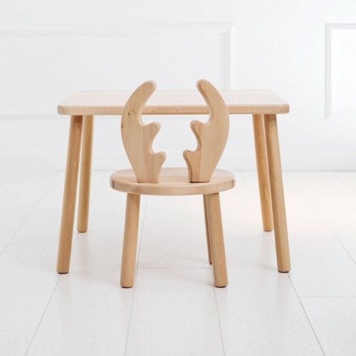 Reindeer Chair and Table set