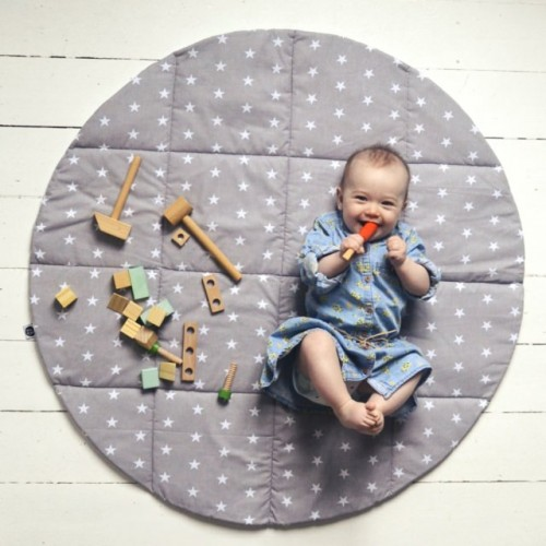 Baby Play Mat - Grey