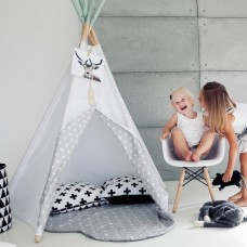 Starry Gates White Teepee