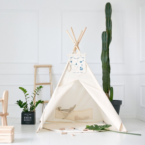 Natural Canvas Teepee