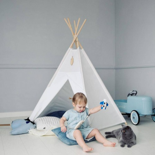Plain White Teepee