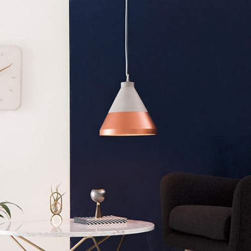 Concrete Craft Small Hanging Light