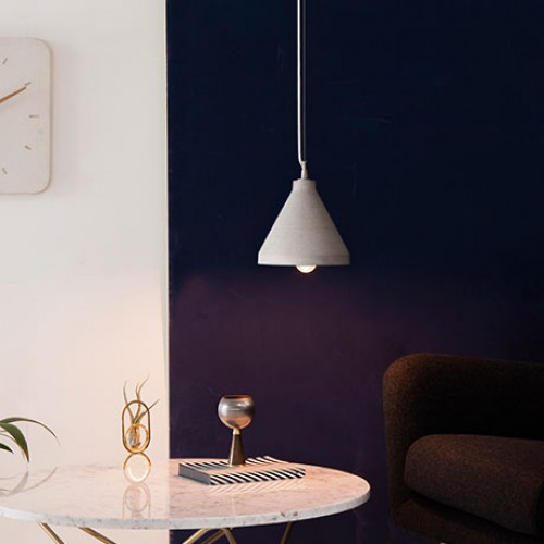 Concrete Craft Large Hanging Light