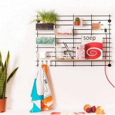 Grid Wall Shelving - Package 01