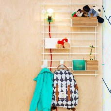 Grid Wall Shelving - Package 02