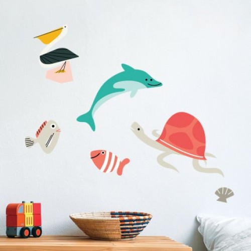 Seaside Vynil Wall Stickers