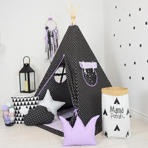 Black Dots Teepee
