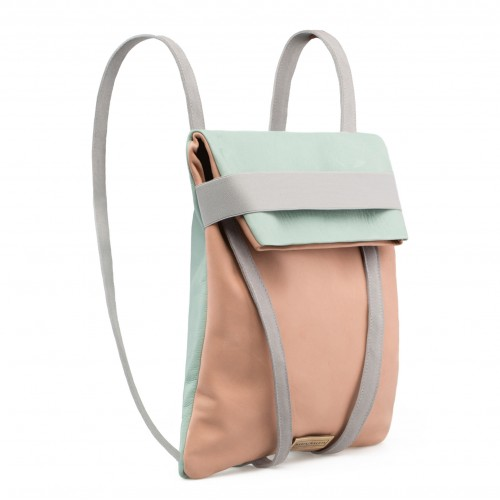 Leather Backpack -  Alba