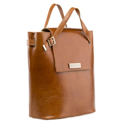 Leather Bucket Bag -  Classic