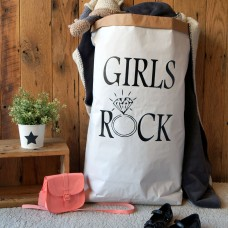 Girls Rock - Paper Storage Bag