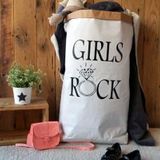 Girls Rock - Paper Storage Bag