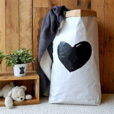 Heart Shape - Paper Storage Bag