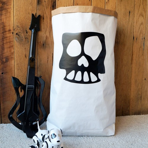 Skull - Paper Storage Bag