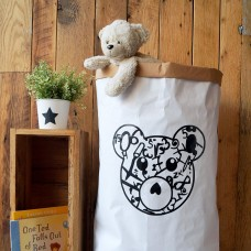 Teddy Bear - Paper Storage Bag
