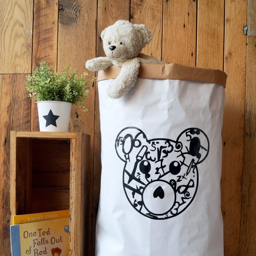 Teddy Bear - Paper Storage Bag