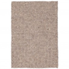 Bela Brown Felt Rectangular Rug