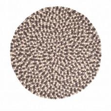 Monochrome Felt Round Rug