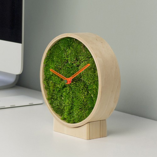 Moss Table Clock 6