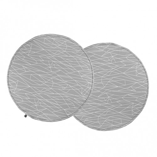 Grey Print Play Mat