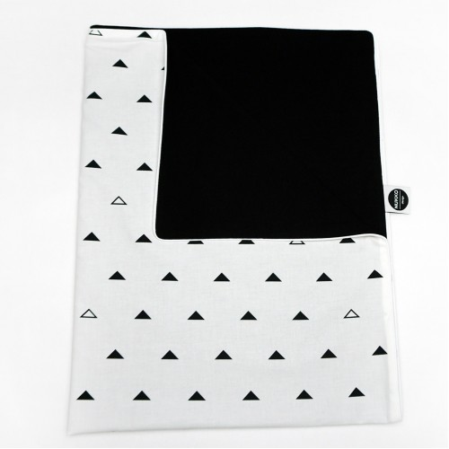 Geometric Dream With Black Blanket