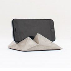 Grey Concrete Smartphone Stand