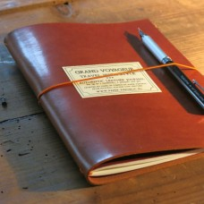 Grand Voyageur Leather Journal - Light Brown