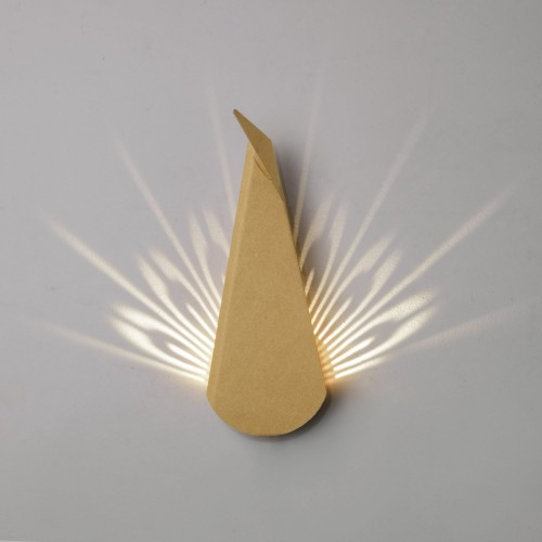 Peacock LED Light - Cardboard