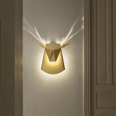 Deer Head LED Lamp - Aluminium