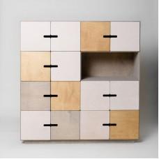 PIX 4X4 Wooden Sideboard