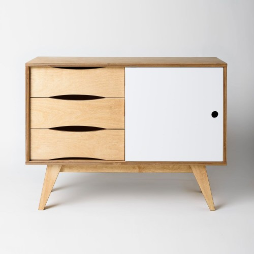 SoSixties Narrow Wooden Sideboard