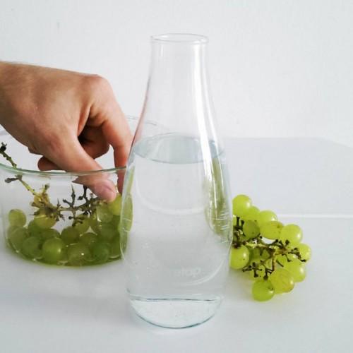Glass Water Bottle - Dinner Kit