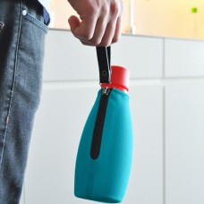 Glass Water Bottle with Sleeve - 500ml