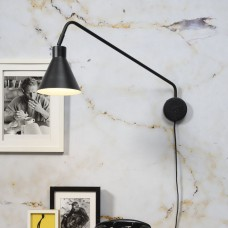 Lyon Wall Arm Light- Black